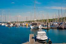 Marina (Bootshafen) in Kühlungsborn