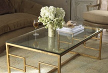 COFFEE TABLES ,End Tables & vignettes on tables