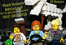 Lego Honors Advising / Having fun in the Honors Office