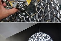 origami lamp