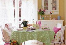 Sala de Jantar / Decoração de Sala de Jantar