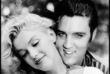 Monroe and Elvis / For Angele' and Maria