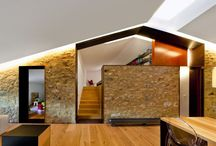 Interior design inspirations / Old and new, stone and contemporary design