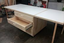 Projects for home / Rolling work table