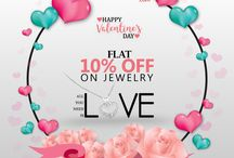 Valentine's Day 2018 / Happy Valentine's Day FLAT 10% OFF on Everything Use Promo Code: VAL10%OFF