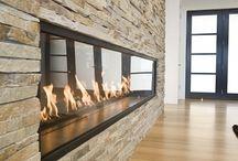 Stone Fireplaces