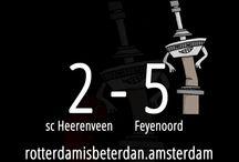 Voetbal uitslagen Feyenoord / Vind hier de voetbal uitslagen van Feyenoord