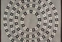Visual illusion quilts