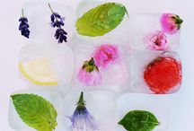 Floral theme cocktails