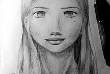 >>My own drawings \(^-^)/