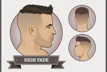 Male Hairstyles / Sexys
