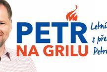 Petr na grilu / Letné setkávání