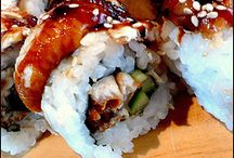 Sushi at home <3 / by Courtney Parent