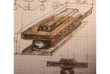 Furniture designs / Here's an example of what I do #freeHand. There's nothing like practicing your #drawingskills when you get a chance. The reason why, you never know, when you are going to use this #Internalweapon, especially as a #desinger This is what separates you from the cannot and can do $, make it habit to practice your #drawingSkills, your #drawing gets better, the more you practice, the more time you spend connecting your hands to your brain, your brain up loads fresh information.