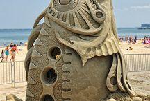 Escultura en otros materiales
