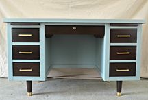 Tanker Desk Love (and other vintage pieces)