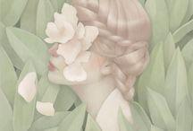 Illustrate/paint/draw