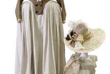 Barrandov Fundus Rococo + Regency costume samples