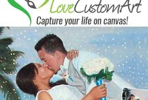 Paint My Photo / Paint my Photo by hand by professionals