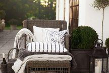Garden& terrace&winter home