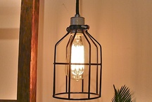 HOUSE: Lighting Ideas / Get rid of builder grade and light up your home with fun lighting fixtures.  Pinning my favorites here!