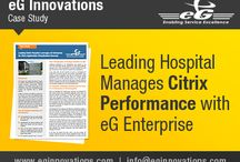 eG Innovations – Case Study / Leading Hospital Manages Citrix Performance with eG Enterprise
