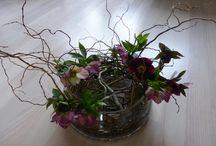 Bloemschikken / Het werken met bloemen, planten en hout