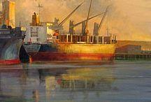 Ship artwork