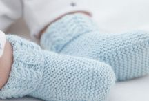 Tricot chaussons