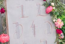 Seating Charts & Escort Card Tables / by Soirée Solutions