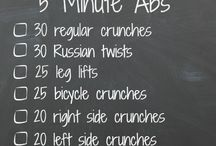 5-Minute Muscle Exercises / Work your abs, arms, and legs in five minutes or less.