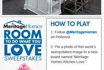 Meritage Homes Kitchen Love.