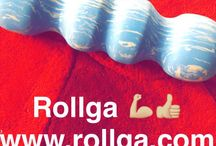 Rollga Fun / Having fun with Rollga, creative ideas and fun pictures.