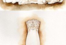 Fashion illustration for Melinda