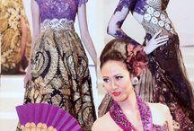 Kebaya / Batik & lace