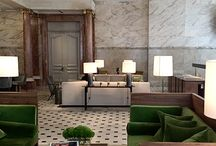 Interiors ❉ Lobbies and Bars