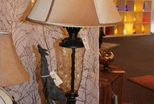 Lamps / Lamps can add a touch of whimsy, sophistication, color and of course light to any room in your home.