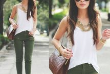 Warm spring outfits