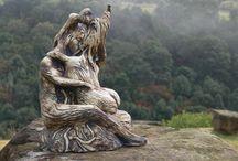 ceramic sculpture by Tarryne Clark / ceramic sculpture