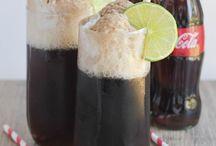 BEVERAGES: FLOATS+SLURPIES / Beverages that include floats, slurpies& sodas / by Janice Maiolatesi
