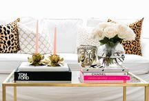 vignettes / interior cravings - interior design inspiration - coffee table vignettes inspiration - console table vignette - mantel vignette - composition of decor elements