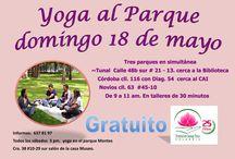 DOMINGO 18 DE MAYO / YOGA EN LOS PARQUES