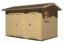 Gartenhäuser / Auf der Suche nach einem Gartenhäusle für unseren Garten.