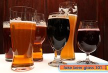 Proper Glassware / Craft beer glassware and other drinking options. Everything to drink your favorite craft brew in.
