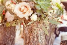 Woodland themed wedding