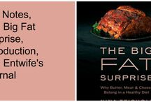 Jen Notes, The Big FAT Surprise / My notes on the book The Big FAT Surprise by Nina  Teichloz.