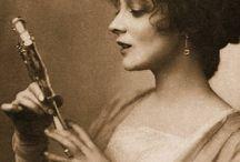 silent film muse