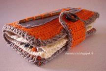 il mio uncinetto creativo / I miei accessori realizzati a crochet; i più fantasiosi per forme, utilizzi e materiali