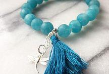 beads bracelets gemstones