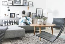 house of c - living room / #styling #design #interior #scandinavian #eclectic #living #livingroom / by christine | house of c | blog